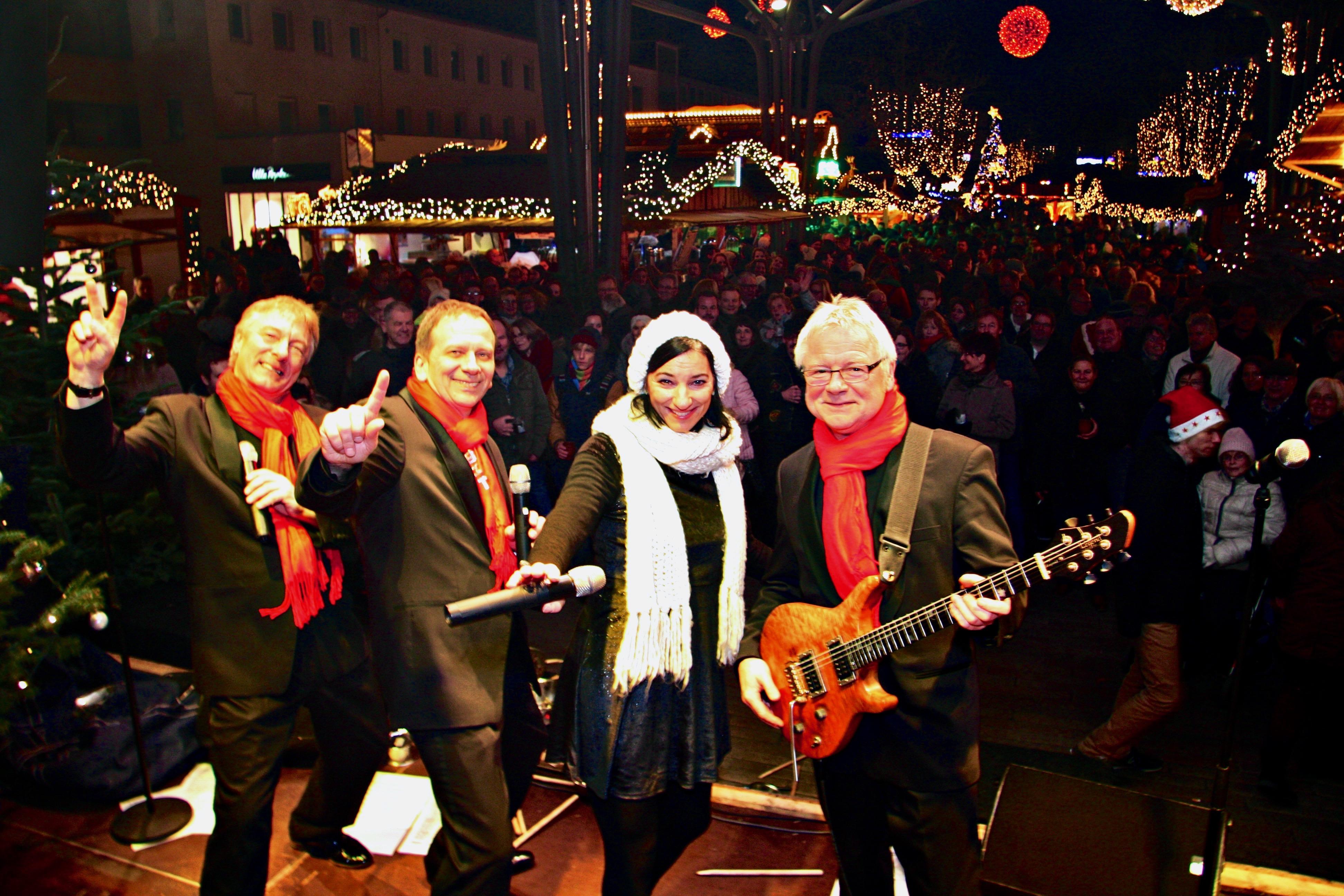 Bühnene-Selfie Weihnachtsmarkt Wolfsburg